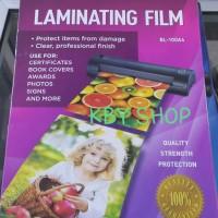 harga Plastik / Laminating Film A4 100 Micron Tokopedia.com