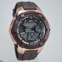 Harga jam tangan pria i gear ori anti air brown   antitipu.com