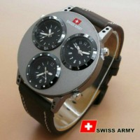 Swiss Army Triple Time / Jam Swiss Army / Swiss Army Sale / Swissarmy