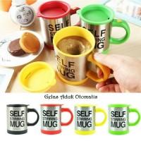 Self Stirring mug / gelas aduk otomatis