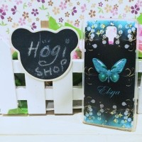 Xiaomi MI4 - Softcase Custom Case Casing Butterfly
