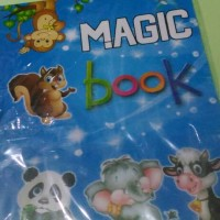 magic colouring book coloring buku sulap ajaib gambar hilang warna