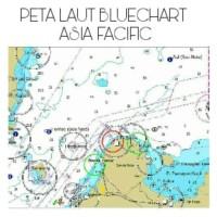 Peta Laut BlueChart Asia Facific V 10.5
