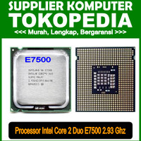 PROCESSOR CORE 2 DUO E7500 2.93 Ghz