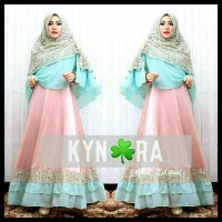 gamis abaya syar'i soft pastel