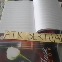 BUKU MUSIK BUKU NOT BALOK MAXI BOXY AA 10