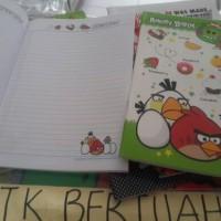 BUKU TULIS CAMPUS MAXI BOXY BERGAMBAR BERWARNA KIKY 30