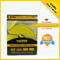 Kabel Audio Video HDMI 5 Meter untuk PC Laptop TV LCD LED Versi 1.4