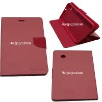 Sarung Mercury Samsung Tab 2 7 inch-P3100-Fancy Diary Tablet-Pink Muda
