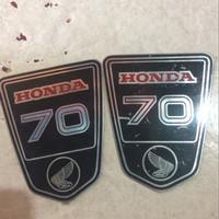 harga emblem body honda st70 ct70 monkey gorila Tokopedia.com