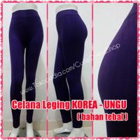 harga Celana Leging Korea Ungu - Polos Tebal Tokopedia.com