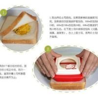 Sandwich Toaster Heart Shaped Mold / Cetakan Kue Hati Murah