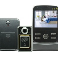 Wireless Peephole Video Door Phone 3x Monitors - JS-PVD Limited
