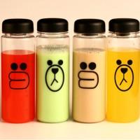 Botol Minum Plastik Bening Line Character Sally & Brown Limited
