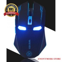 Jual Mouse Wireless Gaming Merk Weyes (Iron Man Series) Murah