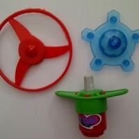 Gasing Ufo Pencet Tarik Murah Edukatif Tor Blade Mainan Anak Edukasi