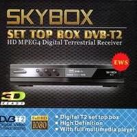 SET TOP BOX Merk SKY BOX / Penangkap TV DIGITAL