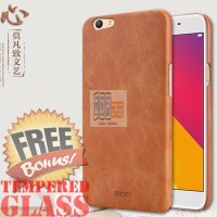 Jual Leather Backcase Mofi ORIGINAL Hardcase Hard Back Case Oppo F1s Selfie Murah