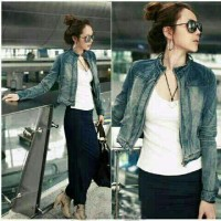 EA-Jacket Jeans Pull and Bear 1o6.000 Matt Jeans Washed