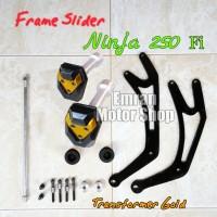 harga Frame Slider Ninja 250 Fi Transformer Gold Tokopedia.com