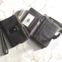 dompet wanita kulit fossil original becca multi
