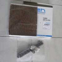 Paket Filter AC Datsun D-6933CP coklat + Cover Filter Original Nissan