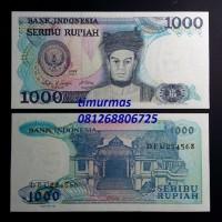 Jual Uang Lama Kuno 1000 Rupiah 1987 Sisingamangaraja Murah