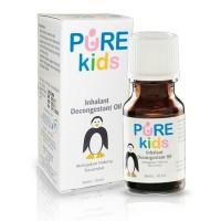 PURE KIDS Inhalant Decongestant Oil 10ml | Pelega Hidung Tersumbat