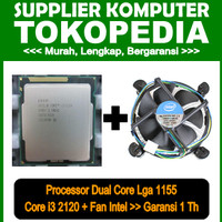 Processor LGA 1155 Intel Core i3 2120 3.3 Ghz + Fan