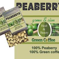 harga PREMIUM Green coffee beans (Peaberry) 200gr Tokopedia.com