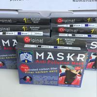 harga Masker MASKR Anti Debu Asap Dengan Activated Karbon Panjang Tokopedia.com