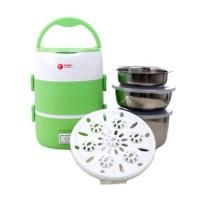 Tori TLB-111 Lunch Box Rice Cooker - Hijau
