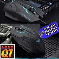 Mouse Game Murah Rajfoo i5 Optical Wired USB Gaming Mouse 1600 DP