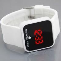 Jam Tangan Layar Sentuh LED Touch Watch Screen Hitam & Putih