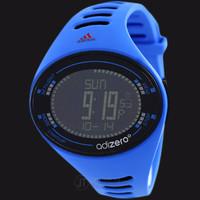 Adidas ADP3511 Adizero Digital Watch Blue Rubber Strap