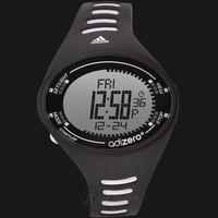 Adidas ADP3502 Adizero Digital Watch Black Rubber Strap