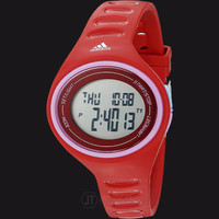 Adidas ADP3180 Adizero Digital Watch Red Rubber Strap