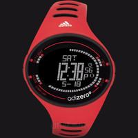 Adidas ADP3512 Adizero Digital Watch Red Rubber Strap