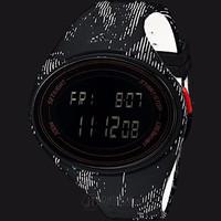 Adidas ADP3179 Adizero Digital Watch Black Rubber Strap