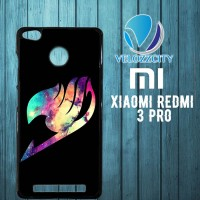 fairy tail logo galaxy Z3697 Xiaomi Redmi 3 Pro Case (Cover, Hardcase)