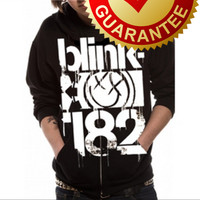 RICKS CLOTHING SWEATSHIRT / HOODIE ZIPPER BLINK 182 PUNK ROCK M.K