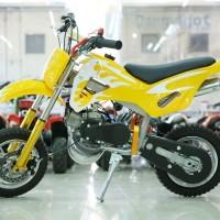 Mini Motor Trail 50cc 2 Tak Olahraga Mainan Hobi Anak