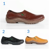 Sepatu Murah Kickers Slop Kulit Asli Original Sepatu Pria