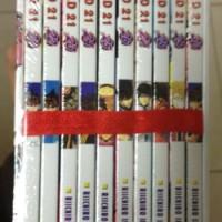 Cabutan dan Set - Komik EYESHIELD 21 Volume Lengkap, Masih Segel Toko