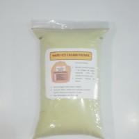 Jual hard ice cream premix rasa greentea (bubuk premix eskrim) Murah