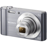Sony Cyber-shot DSC-W810 Digital Camera -Silver/Black