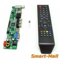 Universal LCD Controller Board TV Motherboard VGA / HDMI / AV / TV / U