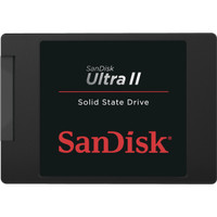 SANDISK ULTRA II SSD 480GB SPEED 500mb / S / 500mb / S ORIGINAL