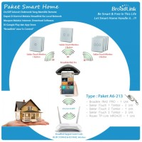 PAKET SMART HOME BROADLINK : TYPE A6-213