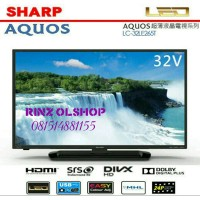 "LED TV SHARP 32"" AQUOS 32LE265 USB MOVIE GARANSI RESMI MURAH..."